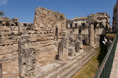 Tempel 2 van Apollo Stock Foto