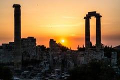 Tempel van Apollo Didyma stock foto's