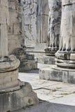 Tempel van Apollo in Didyma, Turkije royalty-vrije stock afbeelding