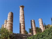 Tempel van Appolo royalty-vrije stock foto's
