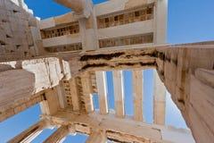 Tempel van Athena Nike Athene Griekenland Stock Foto's