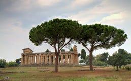 Tempel van Athene Stock Fotografie