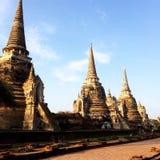 Tempel van Ayuthaya Royalty-vrije Stock Foto's