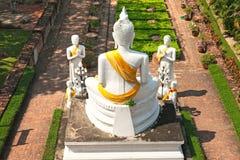 Tempel van Ayuthaya, Thailand, Stock Foto's