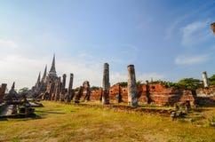 Tempel van Ayuthaya, Thailand, Royalty-vrije Stock Foto