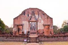 Tempel van Ayutthaya, Thailand Stock Foto