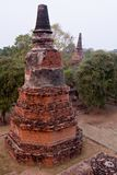 Tempel van Ayutthaya, Thailand Stock Afbeeldingen