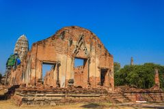 Tempel van Ayutthaya, Thailand Royalty-vrije Stock Foto