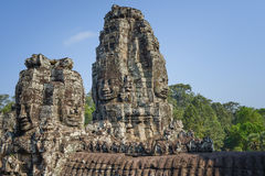 Tempel van Bayon Royalty-vrije Stock Afbeelding