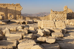 Tempel van Bels - Palmyra Royalty-vrije Stock Fotografie