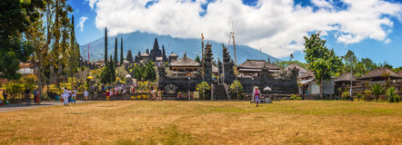 Tempel van Besakih Royalty-vrije Stock Afbeeldingen