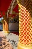 Tempel van Boeddhisme in Laos stock afbeelding
