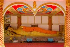 Tempel van Boeddhisme in Laos stock foto
