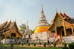 Tempel van Chiang Mai, Thailand Stock Afbeeldingen