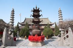 Tempel van de Belangrijkste Minister, het Kaifeng, China royalty-vrije stock afbeeldingen