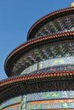 Tempel van de Close-up van de Hemel stock foto's