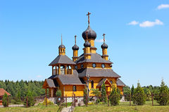 Tempel van de Heilige Helderziende John Doopsgezind in Dudutki Stock Afbeelding