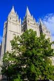 Tempel van de Kerk van Jesus Christ van laatstgenoemde-Dagheiligen in Zout Royalty-vrije Stock Foto