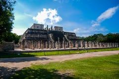 Tempel van de Strijders royalty-vrije stock fotografie