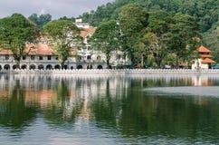 Tempel van de Tand, Kandy, stock foto's