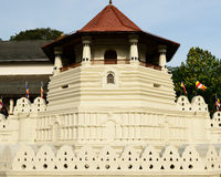 Tempel van de Tand, Kandy, Sri Lanka Royalty-vrije Stock Foto's