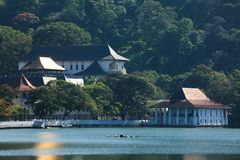 Tempel van de Tand. Sri Lanka royalty-vrije stock foto