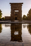 Tempel van Debod Royalty-vrije Stock Foto