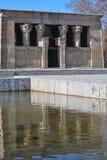 Tempel van Debod, Madrid Royalty-vrije Stock Foto