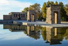 Tempel van Debod - Madrid, Spanje Stock Fotografie