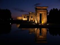 Tempel van Debod in Spanje royalty-vrije stock foto