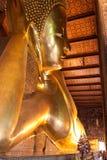 Tempel van Doende leunen Boedha stock foto's