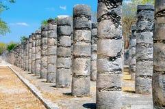 Tempel van Duizend Strijders Stock Fotografie