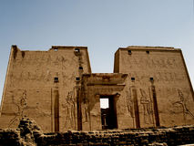 Tempel van edfu royalty-vrije stock foto