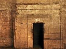 Tempel van Edfu in Egypte Stock Afbeeldingen