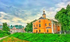 Tempel van Elijah de Helderziende in Ryazan, Rusland stock foto's