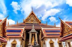 Tempel van Emerald Buddha Temple Boes Rd Royalty-vrije Stock Foto