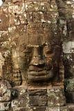 Tempel van 1000 gezichten in Angkor Wat Stock Afbeeldingen