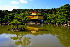 Tempel van Gouden Pavillion Stock Foto's