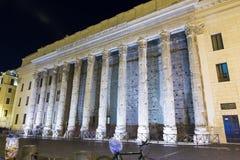 Tempel van hadrian Stock Foto's