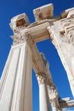 Tempel van Hadrian, Ephesus, Turkije, Stock Foto