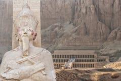 Tempel van Hatsepsut in Egypte Royalty-vrije Stock Afbeeldingen