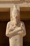 Tempel van Hatshepsut, Deir Gr Bahri, Luxor, Egypte Stock Afbeelding