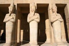 Tempel van Hatshepsut (Egypte) royalty-vrije stock afbeelding
