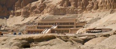 Tempel van Hatshepsut in Luxor Stock Foto