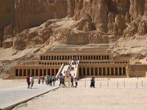 Tempel van Hatshepsut in Luxor Stock Fotografie