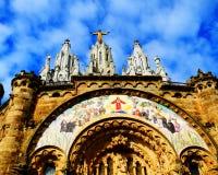 Tempel van Heilig Hart van Jesus Stock Foto's
