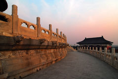 Tempel van hemel Stock Fotografie