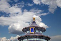 Tempel van Hemel (Altaar van Hemel), Peking, China Stock Foto's