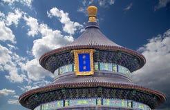 Tempel van Hemel (Altaar van Hemel), Peking, China Stock Afbeelding