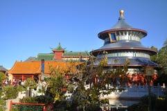 Tempel van Hemel in Disney Epcot, Orlando Royalty-vrije Stock Foto